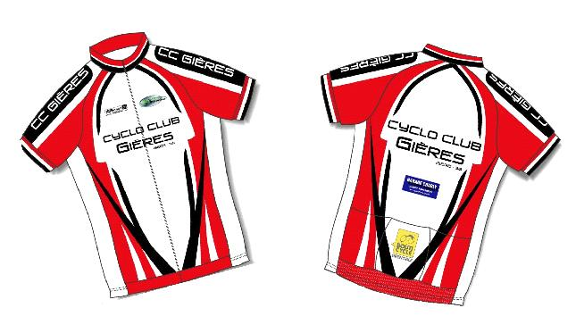 Maillot Cyclo Club GIERES 2012