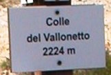 Colle del Vallonetto